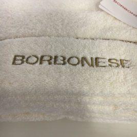 Set asciugamani Borbonese OP spugna – Avorio