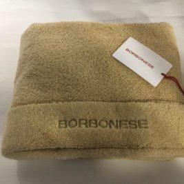 Set asciugamani Borbonese OP spugna – Caramello