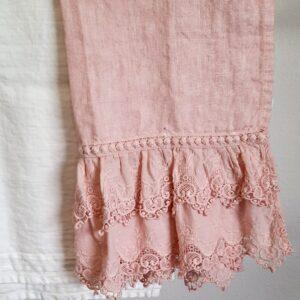 Asciugamano Sangallo in puro lino