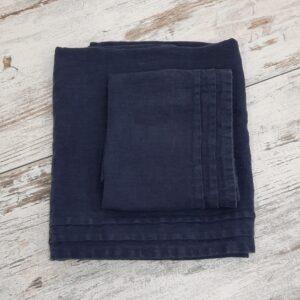 Coppia asciugamani in puro lino LFDL