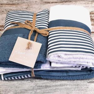 Set 2 coppie asciugamani oceano Season